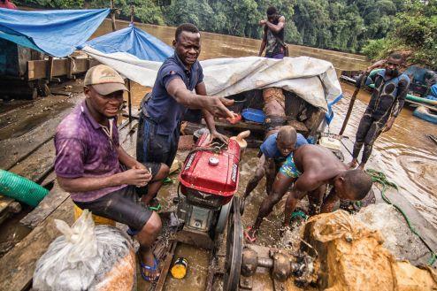 Kongo, kopalnia diamentów