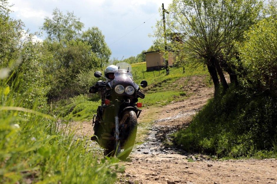 Ukraina, motocykle, Zakarpacie, podróże, Wołosianki
