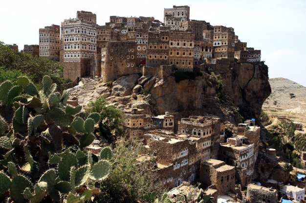 Al Hadżar, zdjęcia z podróży do Jemenu, trekking