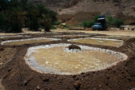 Jemen, zdjęcia z Sajun, produkcja cegieł