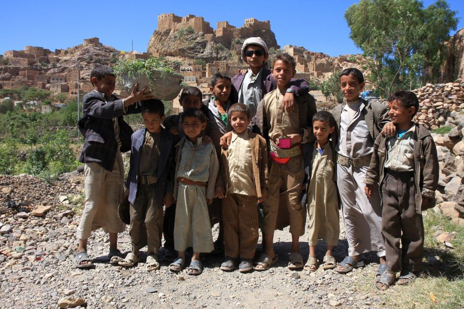 Jemen, miasto Thula w górach Haraz, mieszkańcy Jemenu, zdjęcia z podróży
