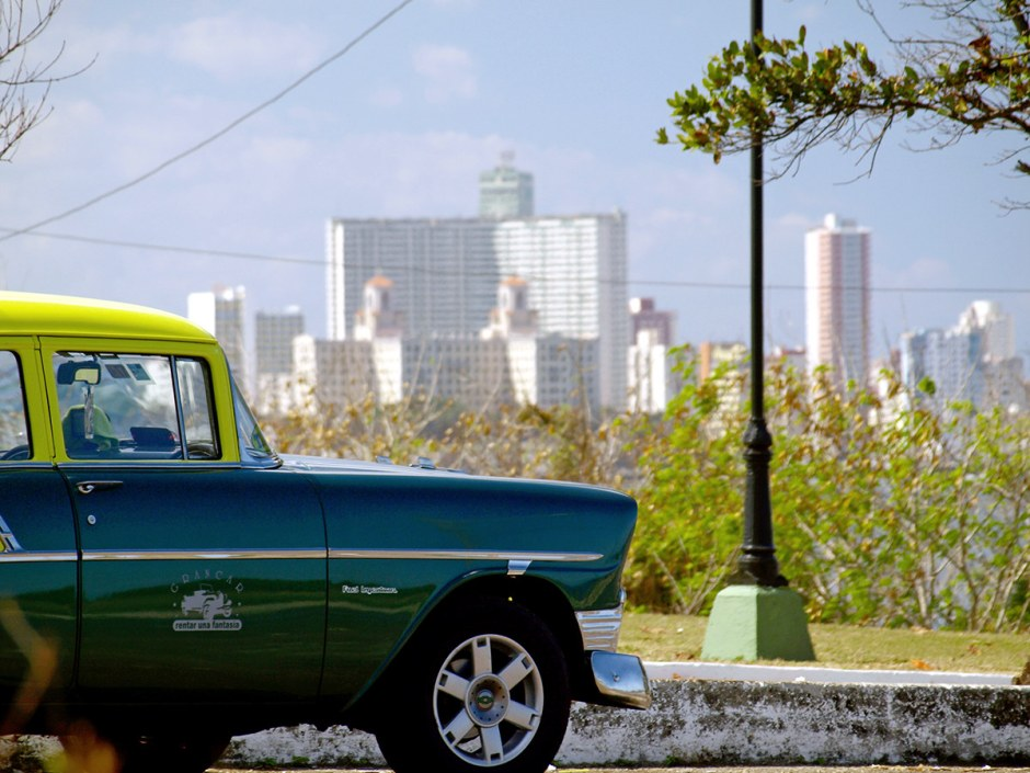 Kuba, Hawana, foto, oldmobile