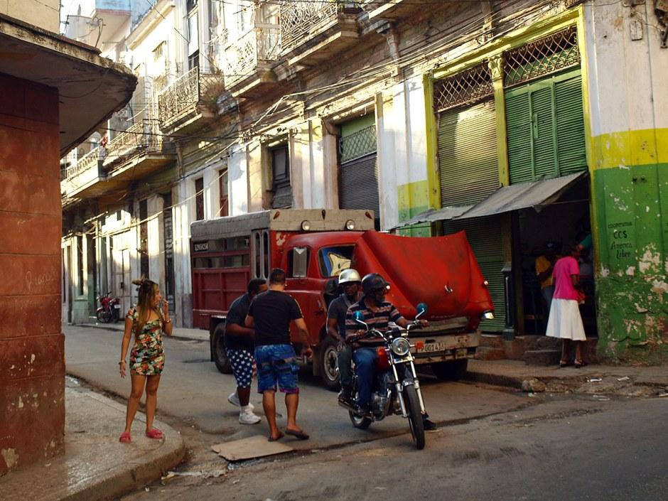 Kuba, Hawana, streetphoto, street life, zdjęcia z podróży