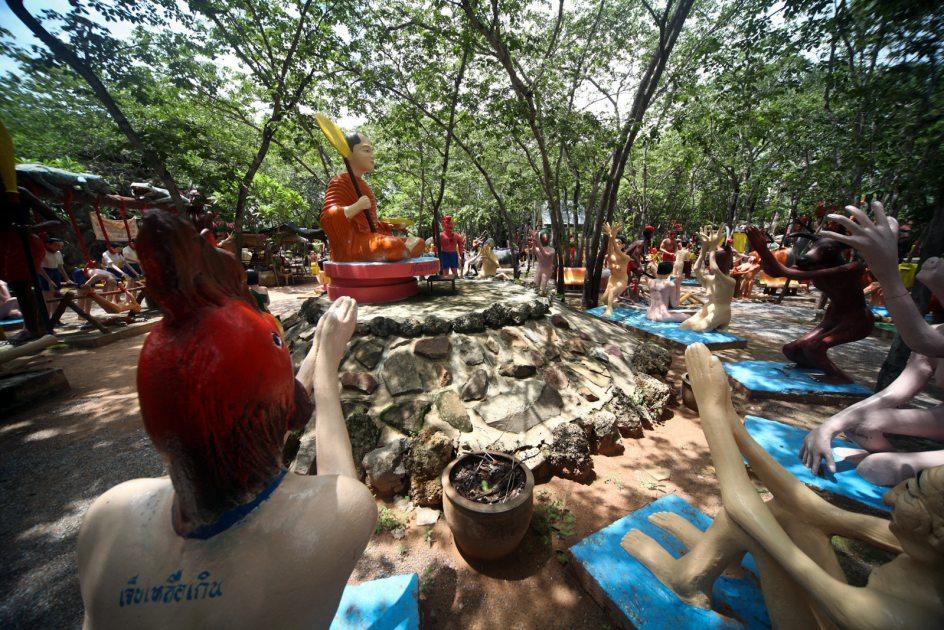 Piekło w buddyzmie, Wat Pa Lak Roi, Tajlandia