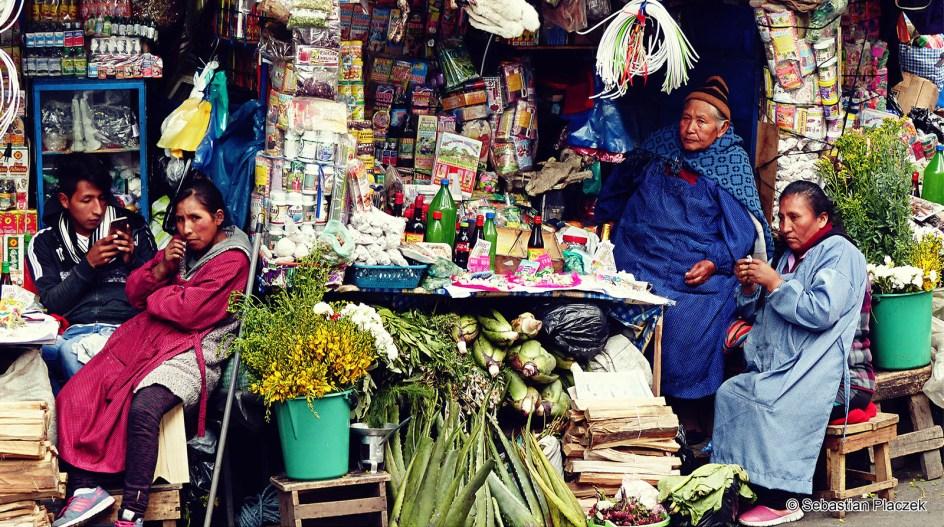 Boliwia, podróż, La Paz, handel