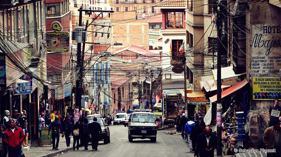 Ameryka Południowa, La Paz, stolica Boliwii, relacja z podróży
