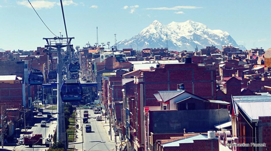 Boliwia, Ameryka Południowa, La Paz. Dzielnica El-Alto