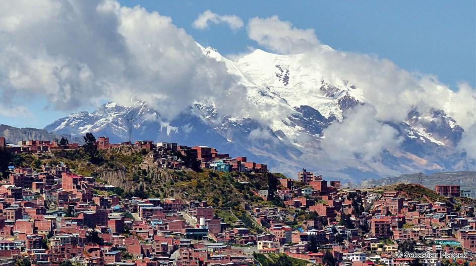 Boliwia, La Paz, panorama miasta, podróże, Ameryka Połusniowa