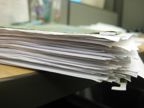 [Documentation for work](http://www.flickr.com/photos/peroty/2289488141/)