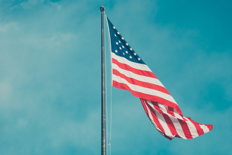 American Flag From Unsplash by Anthony Delanoix