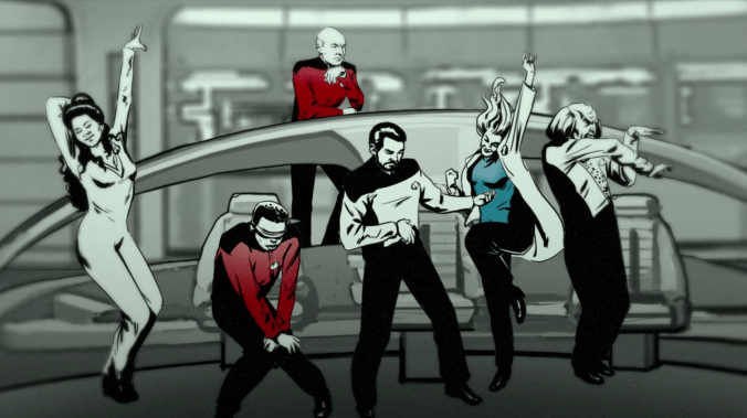 Dancing Crew of Star Trek: The Next Generation