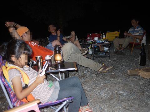 獺祭と川キャンプin某所