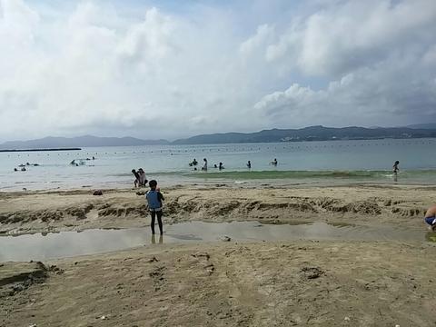 2016伊勢志摩御座岬キャンプ場 海水浴キャンプ