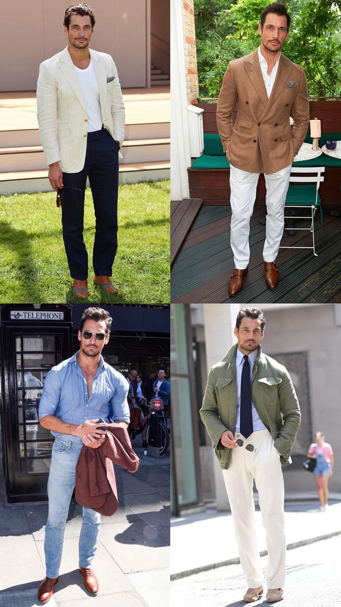 Ακολουθήστε το στυλ του Gandy φέτος το καλοκαίρι και ανακατέψτε διαφόρων  χρωμάτων λινά ρούχα (συνδυάστε τα με ένα t shirt ή ένα ανοιχτό λινό  πουκάμισο) cc36d8fb21b