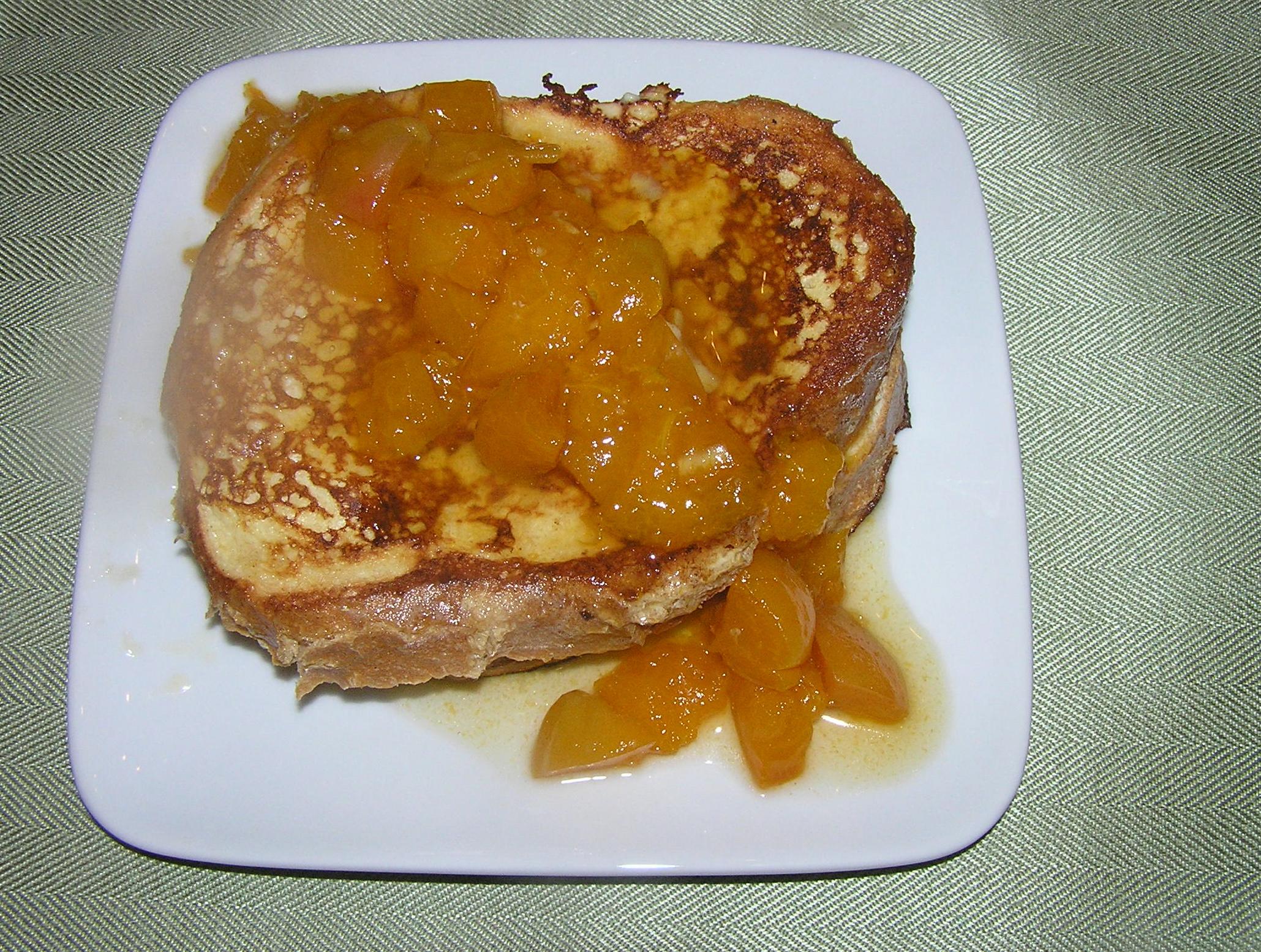 stuffed french apricot