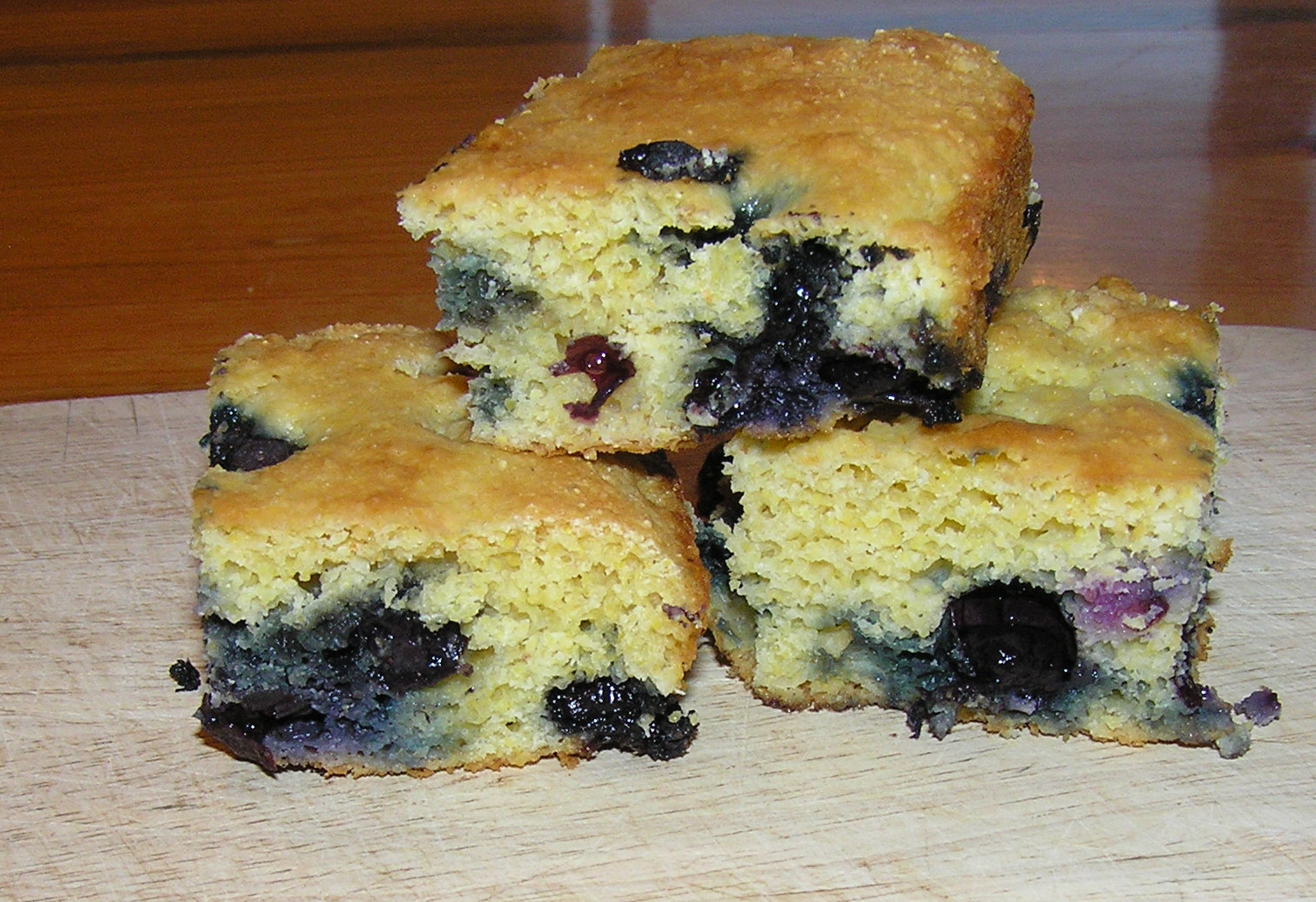 blueberry cornbread 2
