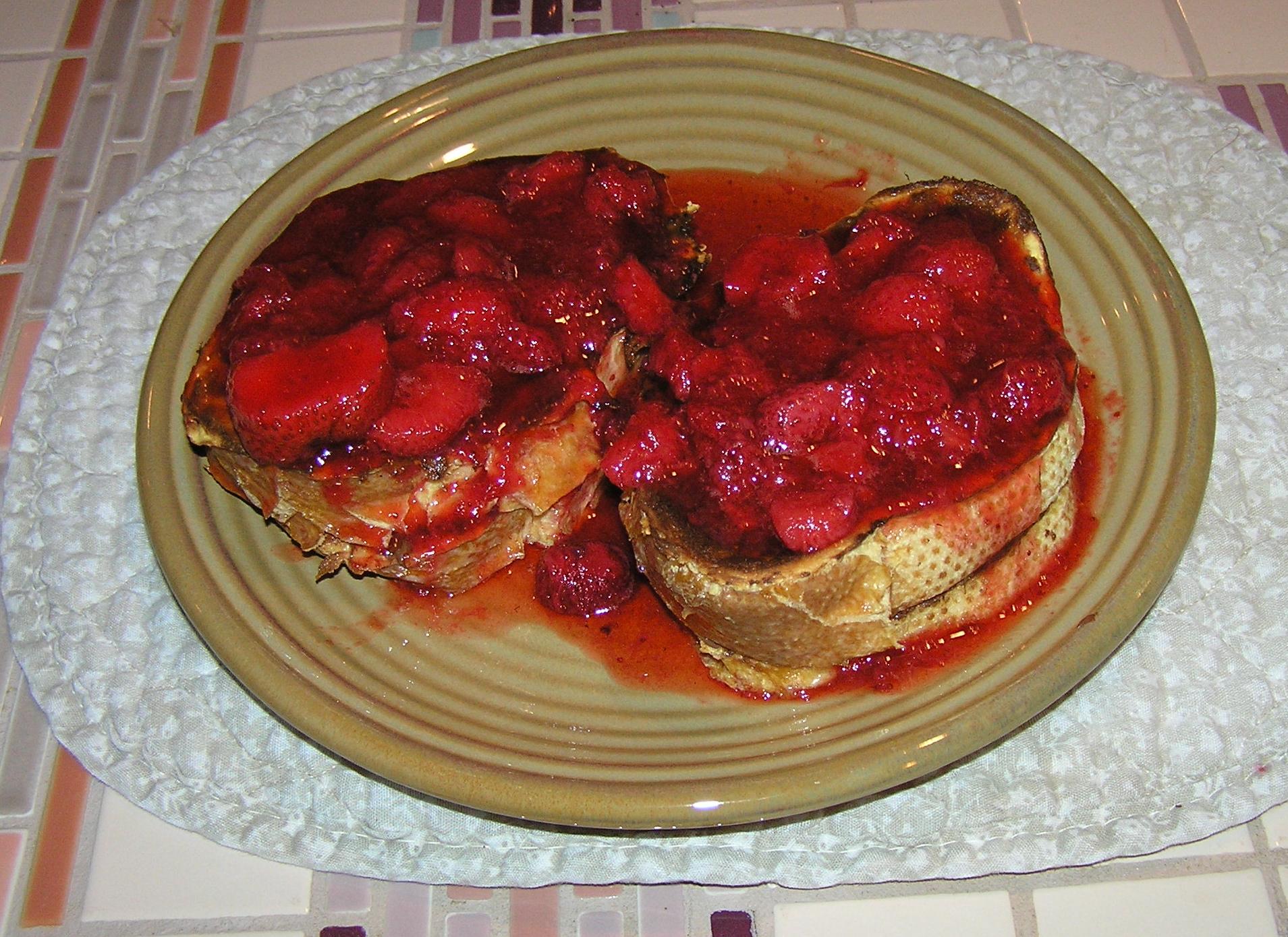 nutella strawberry