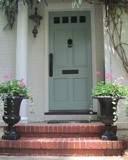 Front Door Inspiration: Inspiration Wednesday: Colorful Front Doors