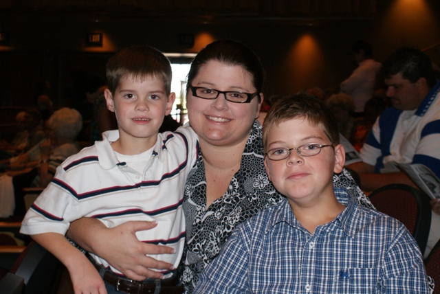 Leah and her sons