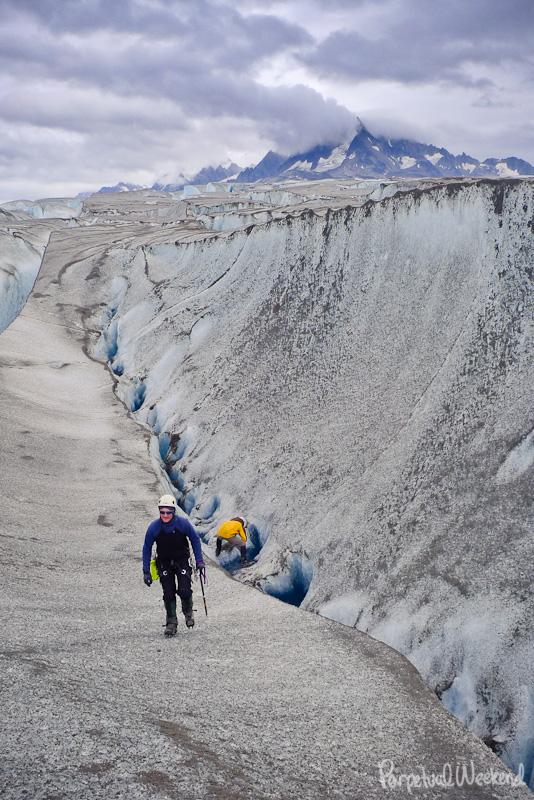 drink glacier water alaska