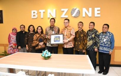Peresmian BTN Zone di Perpustakaan IPB dan Penandatanganan MoU