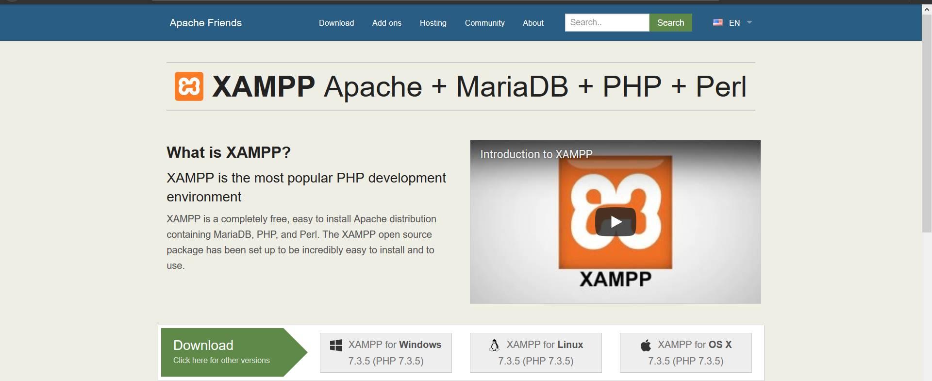 Menggunakan Xampp untuk coding   Web   03