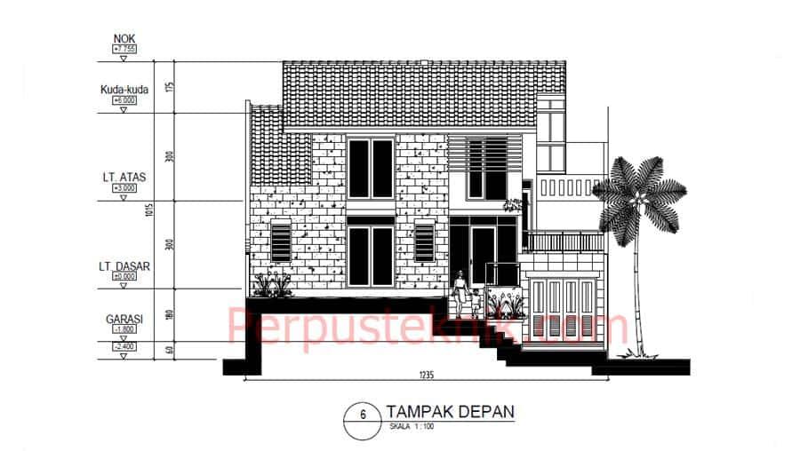 Download gambar Rumah 2 Lantai 1235 x 2040