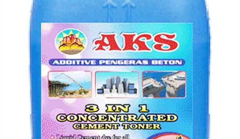 Jenis-jenis obat pengeras beton
