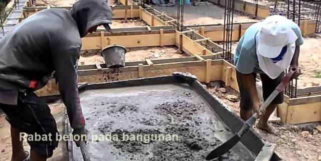 fungsi rabat beton