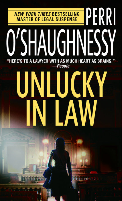 Unlucky in Law Book Cover