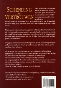 Invasion of Privacy Dutch Edition Back