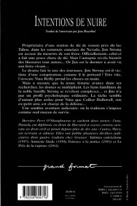 Acts of Malice French Edition Back