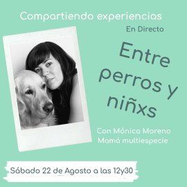 Compartiendo experiencias con Mónica Moreno