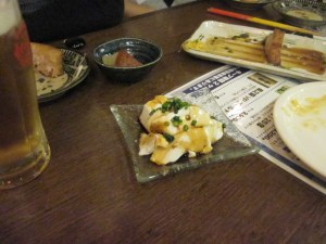 Tofu cremoso, estilo Okinawa