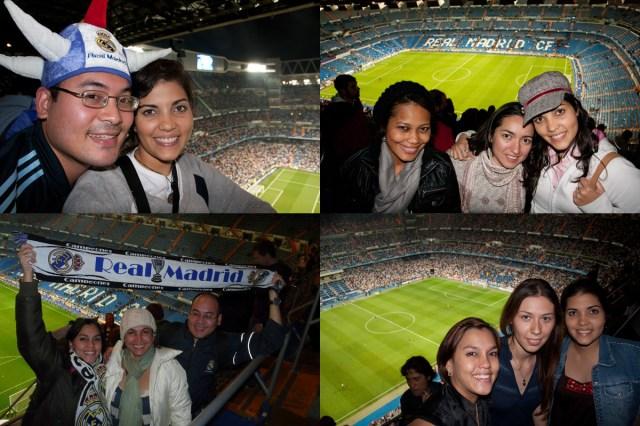 Partidos del Real Madrid en el Santiago Bernabeú