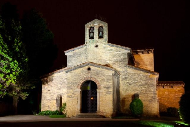 Basílica prerrománica de San Julián de los Prados, en Oviedo, España