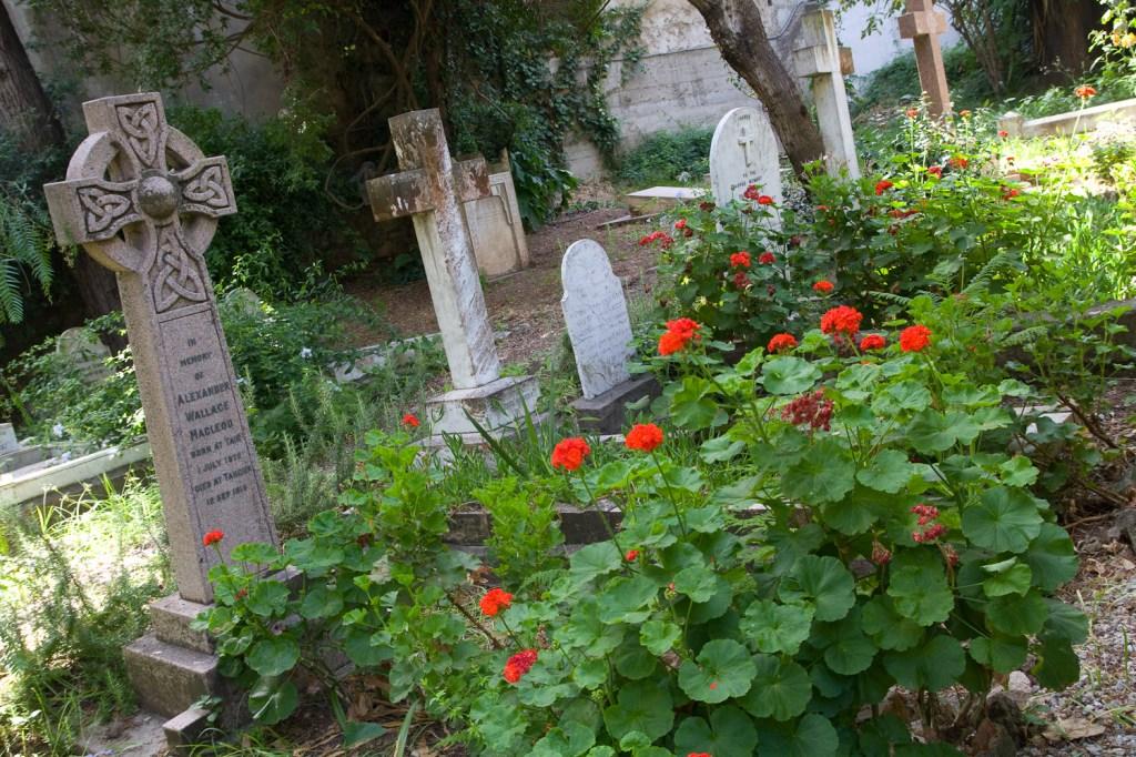 Cementerio de la iglesia anglicana de Saint Andrew - Tánger, Marruecos