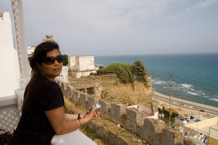 Disfrutando de la vista - Tánger, Marruecos