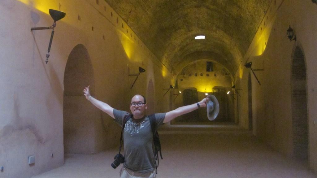 Interior de los establos imperiales - Meknès, Marruecos