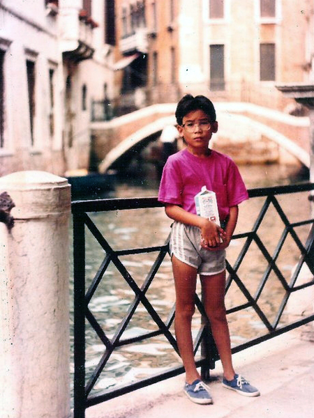 En Venecia, Italia, en 1989