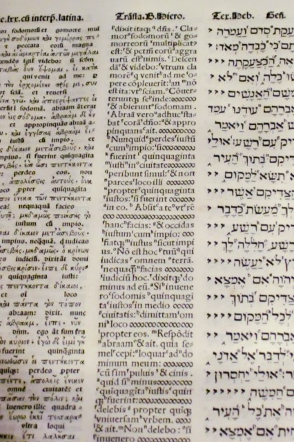 La Biblia Políglota Complutense, obra maestra de la universidad del Cardenal Cisneros