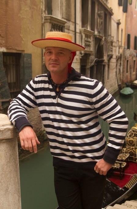 Gondolero veneciano