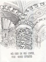 La capela dos Ossos d'Evora
