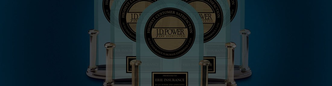 ERIE Earns Top Ranking in J.D. Power Study