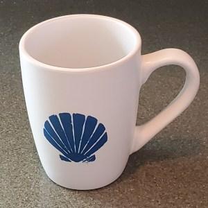 seashell 12 oz coffee mug