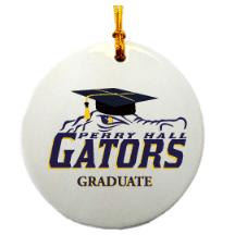 Graduation Gator Ornament