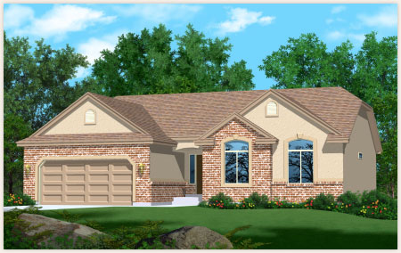Hamilton is a custom home designed by Perry Homes, Utah.