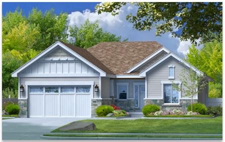 Harrison is a custom home created by Perry Homes, Utah.