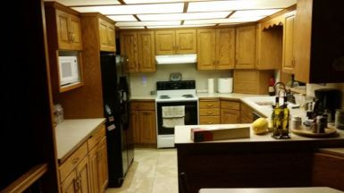 Before of Short kitchen