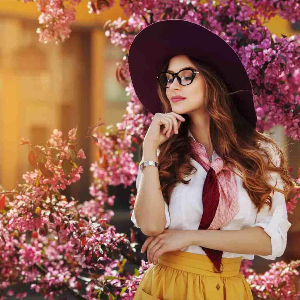 Woman Wearing Boutique Eyewear